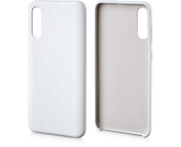 Andersson Silicone Case w/ Microfiber White for Samsung Galaxy A70