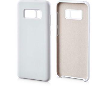 Andersson Silicone Case w/ Microfiber White for Samsung Galaxy S8