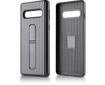 Andersson Strong Hard Case w/ Stand Black for Samsung Galaxy S10