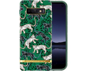 Richmond & Finch Green Leopard for Samsung Galaxy S10