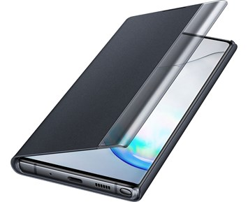 Samsung Clear View Cover Galaxy Note 10 Plus Black