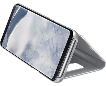 Samsung Clear View Cover S8 Silver