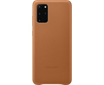 Samsung Leather Cover Galaxy S20+ Brown