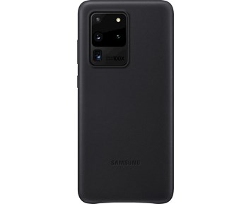 Samsung Leather Cover Galaxy S20 Ultra Black
