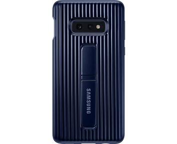 ... Fungerar med trådlös laddning. Samsung Protective Standing Cover Galaxy  S10e Blue 00565d4b35f1d