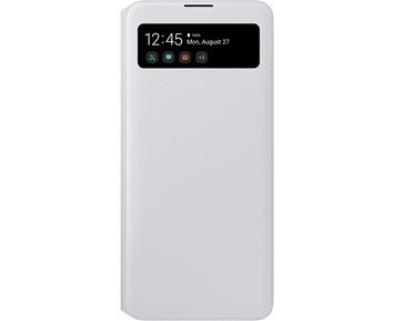 Samsung S View Wallet Cover White Samsung Galaxy A71