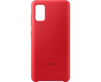 Samsung Silicone Cover Red Samsung Galaxy A41