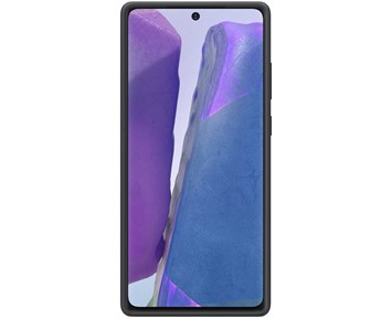 Samsung Silicone Cover Samsung Galaxy Note20 5G Black