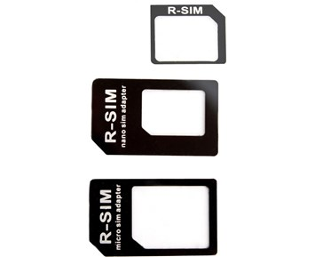 Xqisit Nano/Micro SIM Adapter 3 to 1