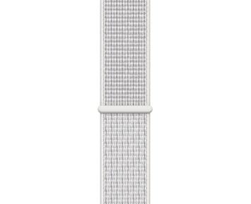 Apple 40mm Summit White Nike Sport Loop