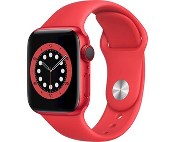 Apple Watch Series 6 GPS + Cellular 40mm PRODUCT(RED) Aluminium Case with PRODUCT(RED) Sport Band-Regular