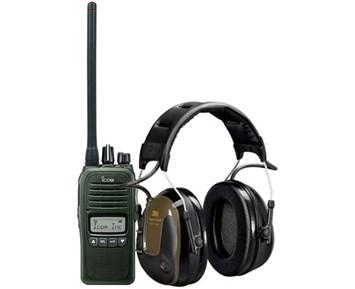 Icom Prohunt B2 Green + ProTac H
