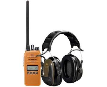 Icom Prohunt B2 Orange + ProTac H