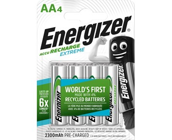 Energizer Extreme AA/NH15 2300 4-pack