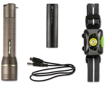 GP Rechargeable Adventure Kit