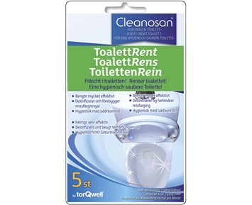 Cleanosan Cleaning tablet for Toilet seats 5pcs