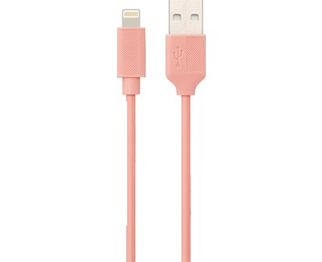 ON Lightning Cable Pink 0,25M 1A