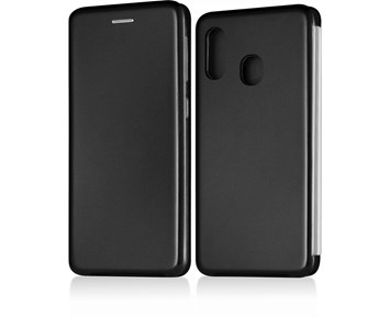 Andersson Flip Wallet Case Black for Samsung A20e