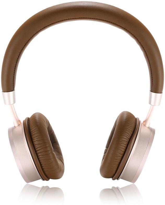 REMAX RB-520HB Bluetooth Headset Gold - Stilsäkra Bluetooth-hörlurar med  inbyggd fjärrkontroll 2e24678d01f47
