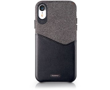 REMAX Hiram creative case Black iPhone XR