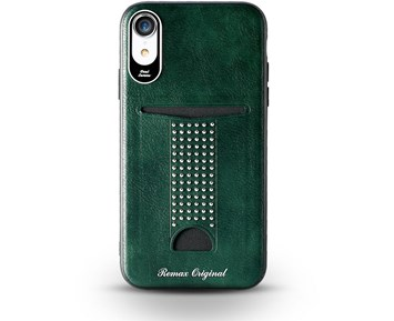 REMAX Milxuan series case Green iPhone XR
