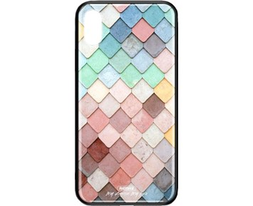 REMAX Yarose series BL-104 Colored tiles iPhone XR