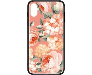 REMAX Yarose series BL-74 Pink flowers iPhone XS