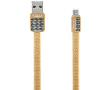 REMAX RC-044m Platinum Micro-USB Cable 1m Gold