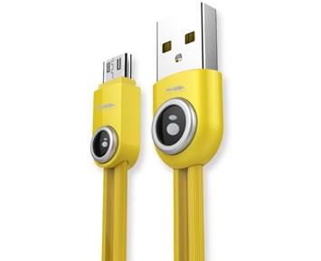 REMAX RC-101m Lemen Micro-USB Cable 1m Yellow