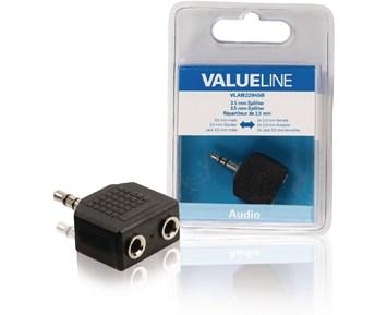 Valueline 3.5 mm Hane – 2x 3.5mm Hona