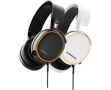 SteelSeries Arctis 5 Gaming Headset White (2019 Edition) 2e4920887365a