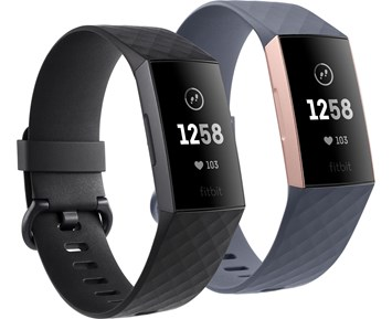 Fitbit Charge 3 Black/Graphite