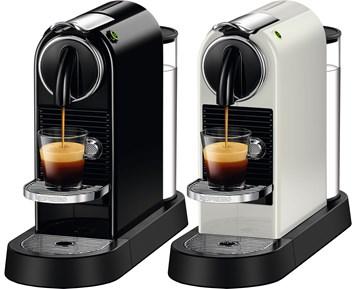 espressomaskin med kapslar