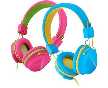 Barnhörlurar - speciellt anpassade för barn - NetOnNet - NetOnNet 6448a704bcca5