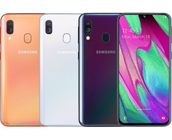 Samsung Galaxy A40/Black