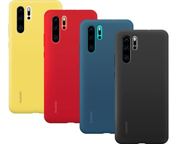 Huawei Silicone Cover Bright Red P30 Pro