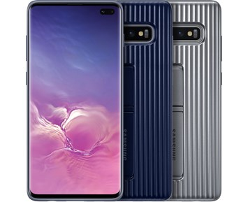 Samsung Protective Standing Covr Galaxy S10+ Blue