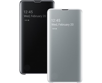 Samsung Clear View Cover Galaxy S10 Black