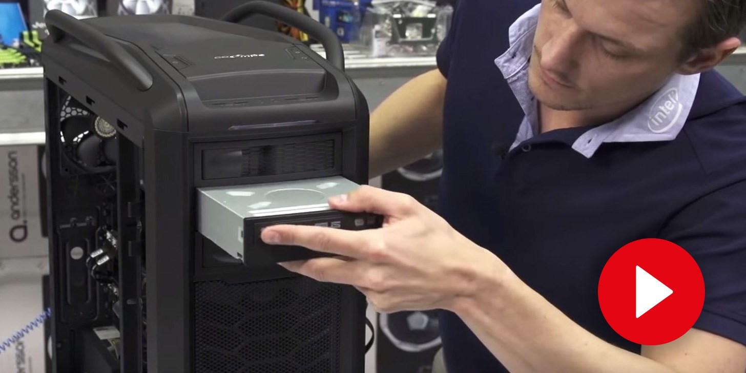 Bygg din egen dator - Optisk enhet