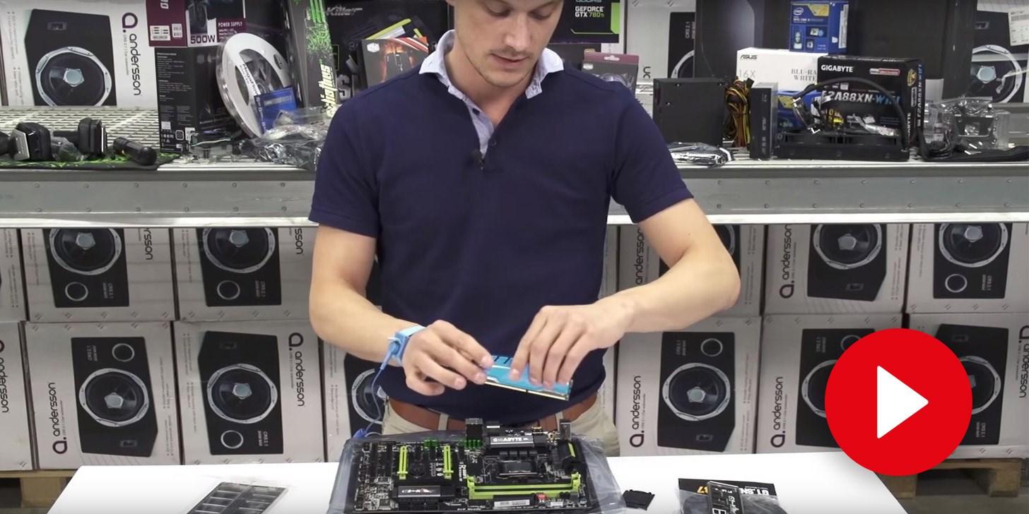 Bygg din egen dator - RAM-Minne