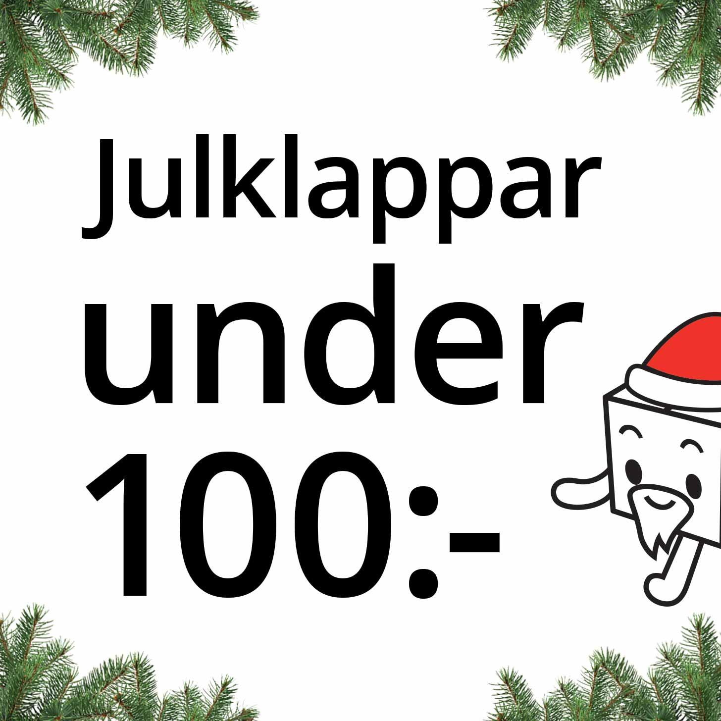 Julklappar under 100:-