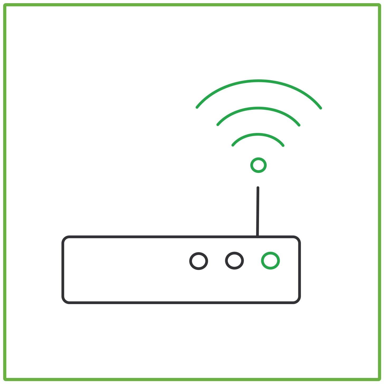 Installation av router