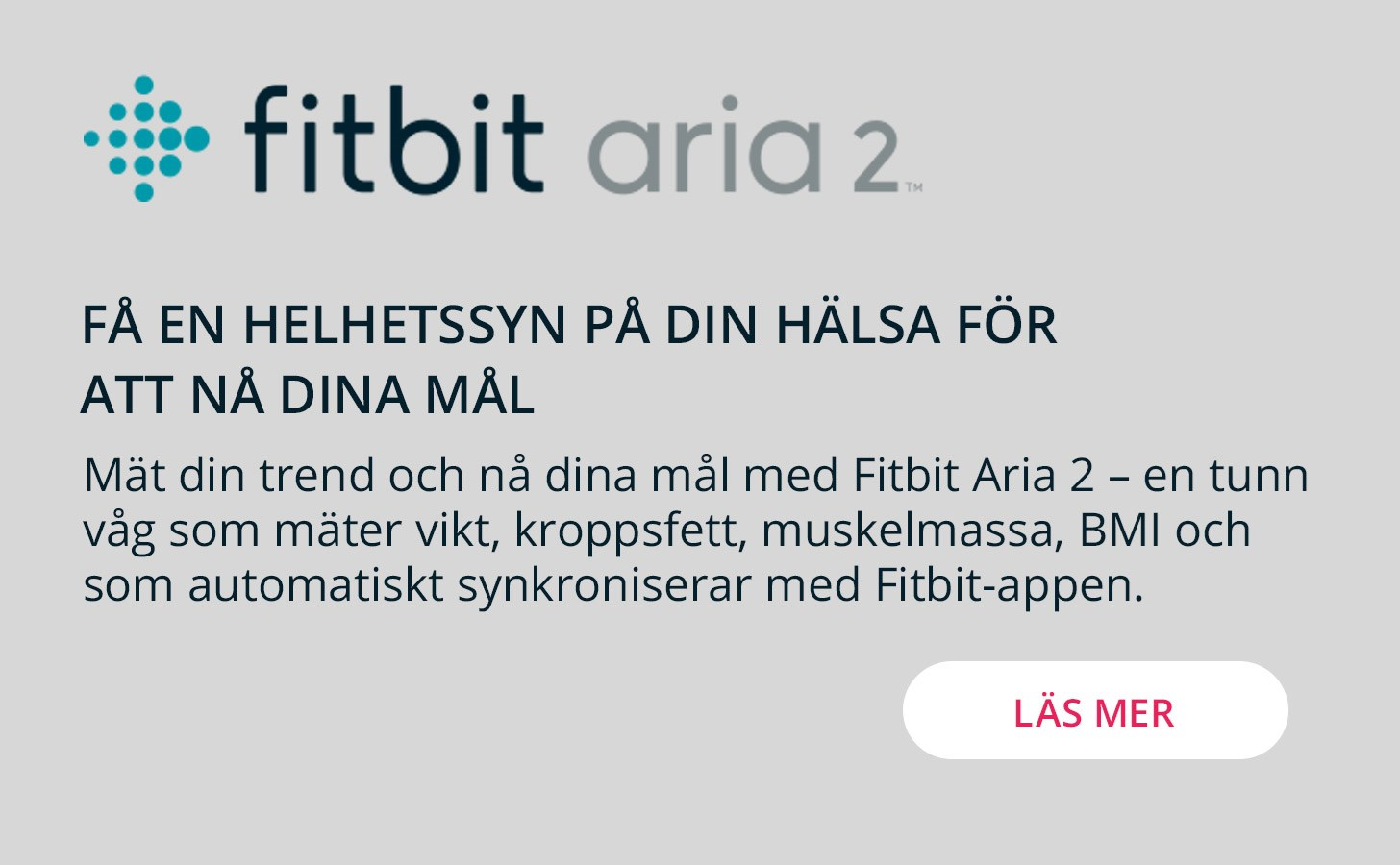 Fitbit Aria2