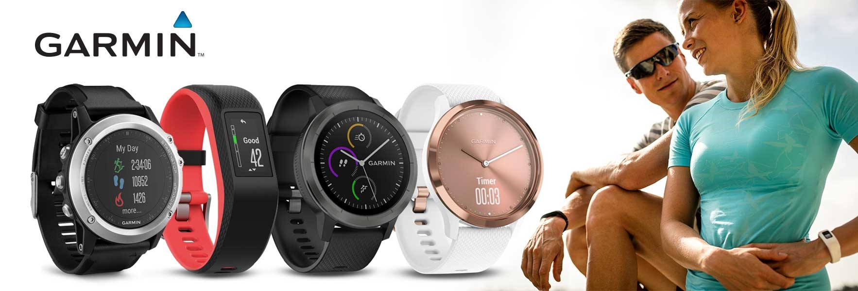 Garmin wearables, smartwatch, aktivitetsband