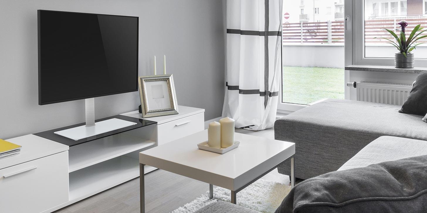 TV på stativ eller med väggfäste? NetOnNet