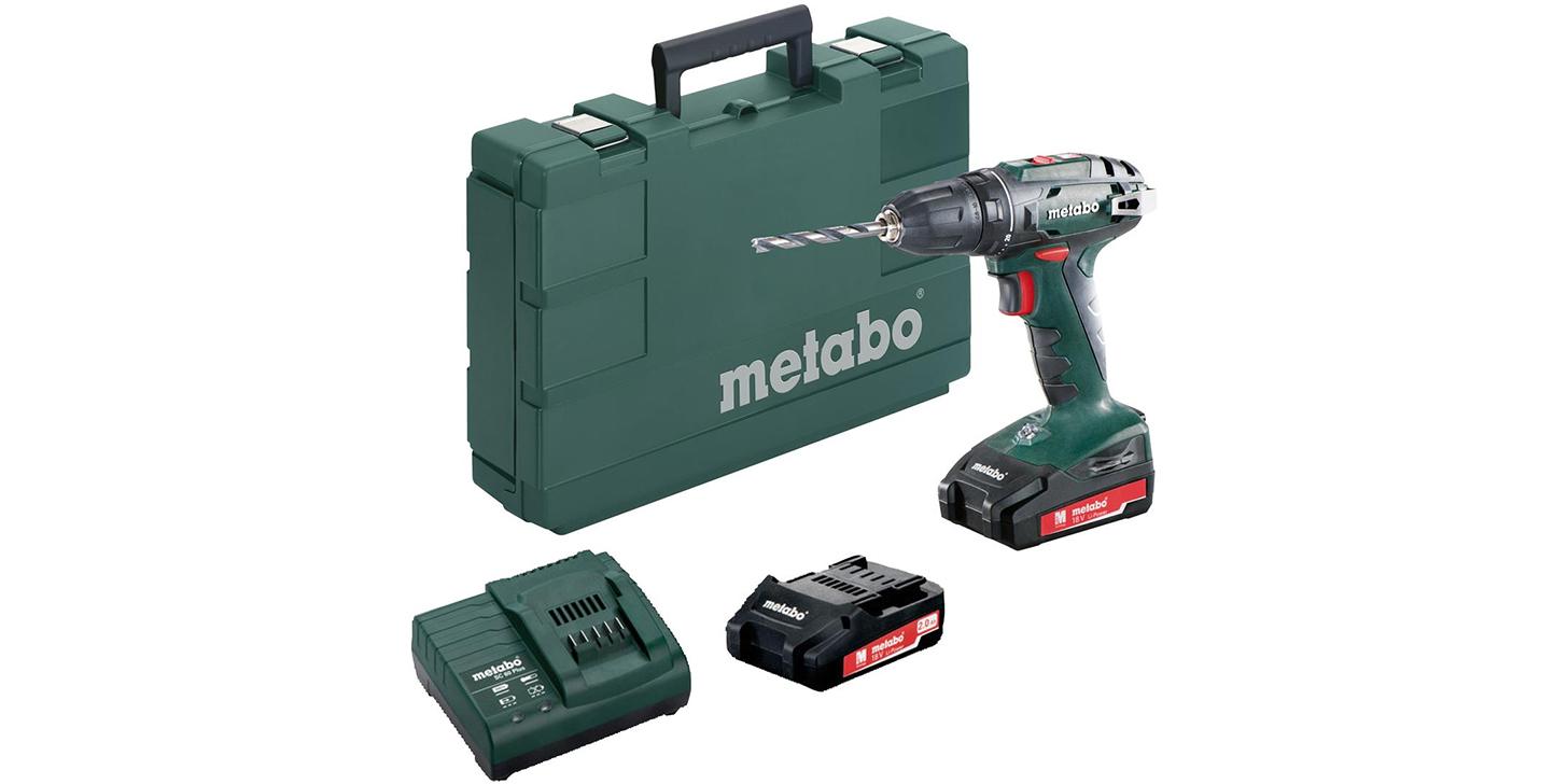 Metabo BS 18 2x2,0 AH SC 60 13 mm