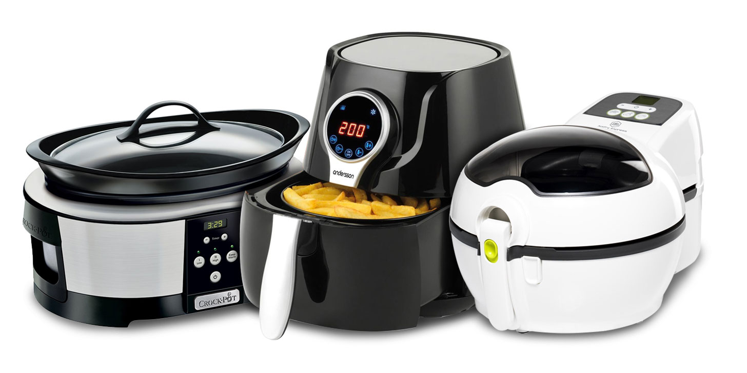 slow cooker, airfryer
