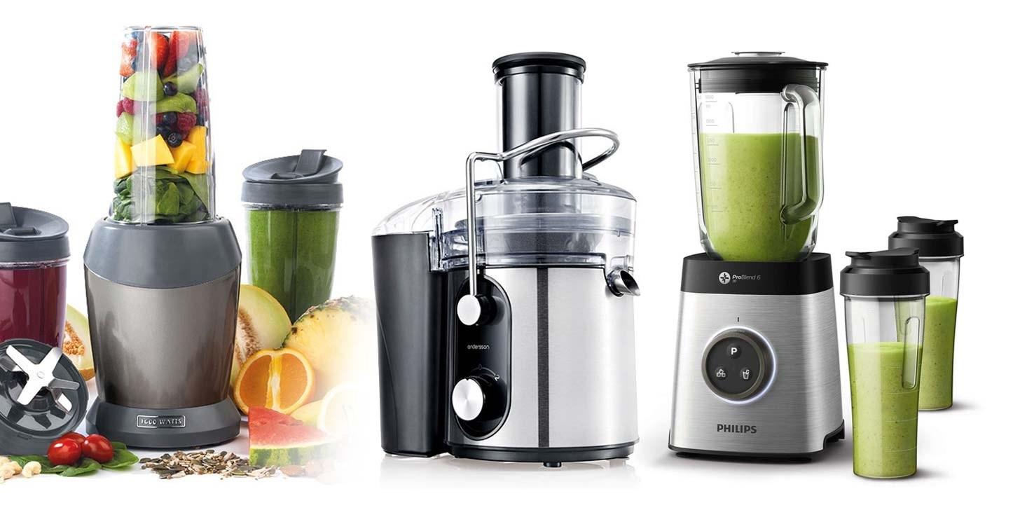 Blender, juicemaskin