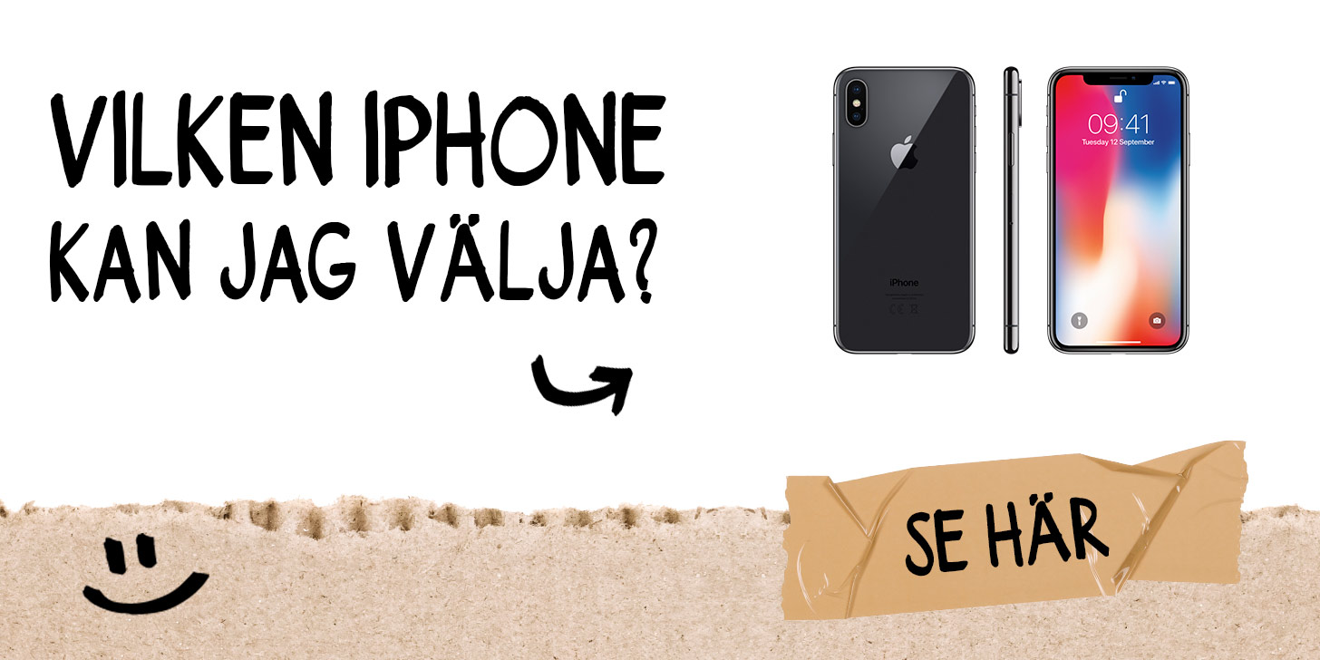 Vilken iPhone kan jag välja?