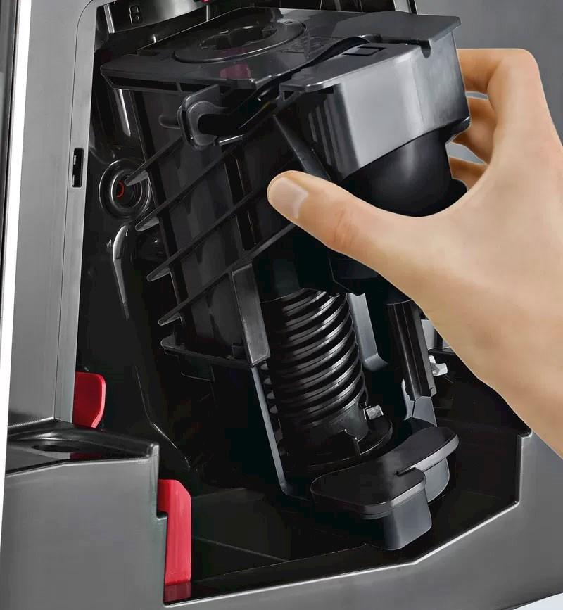Trakteenheten på EQ.500 er avtakbar og lett å rengjøre.